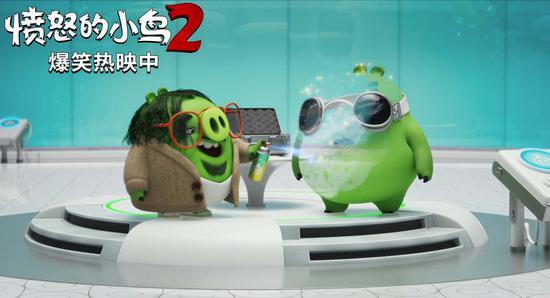 《愤怒的小鸟2》热映 票房逆跌上座率喜人