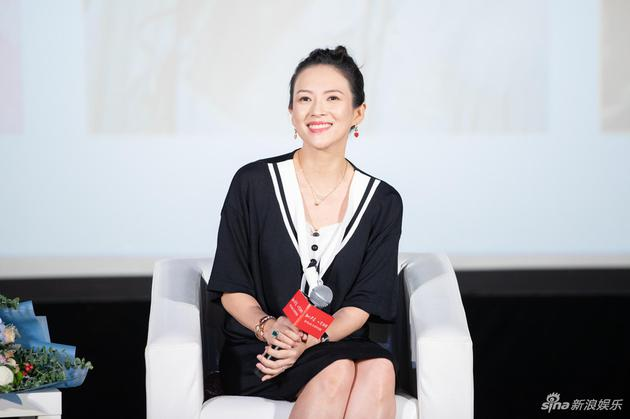 章子怡感谢张艺谋等恩师:我永远是认真努力的学生