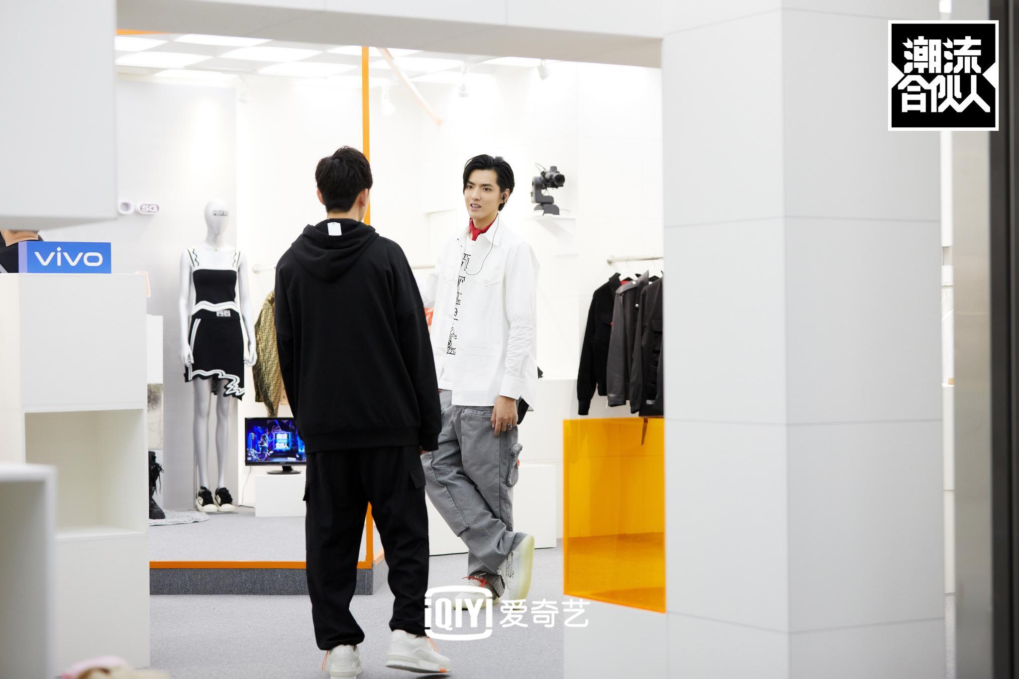 《潮流合伙人》吴亦凡开店获差评一脸尴尬
