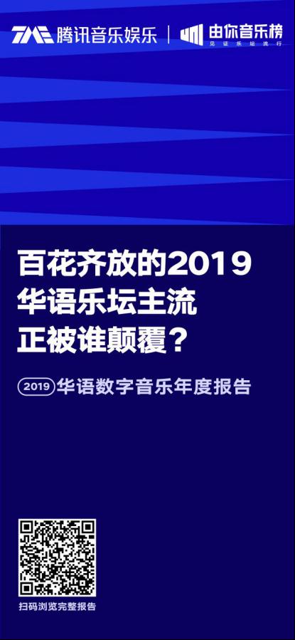 华语数字音乐2019年度报告 盘点音乐行业八大现象关键词