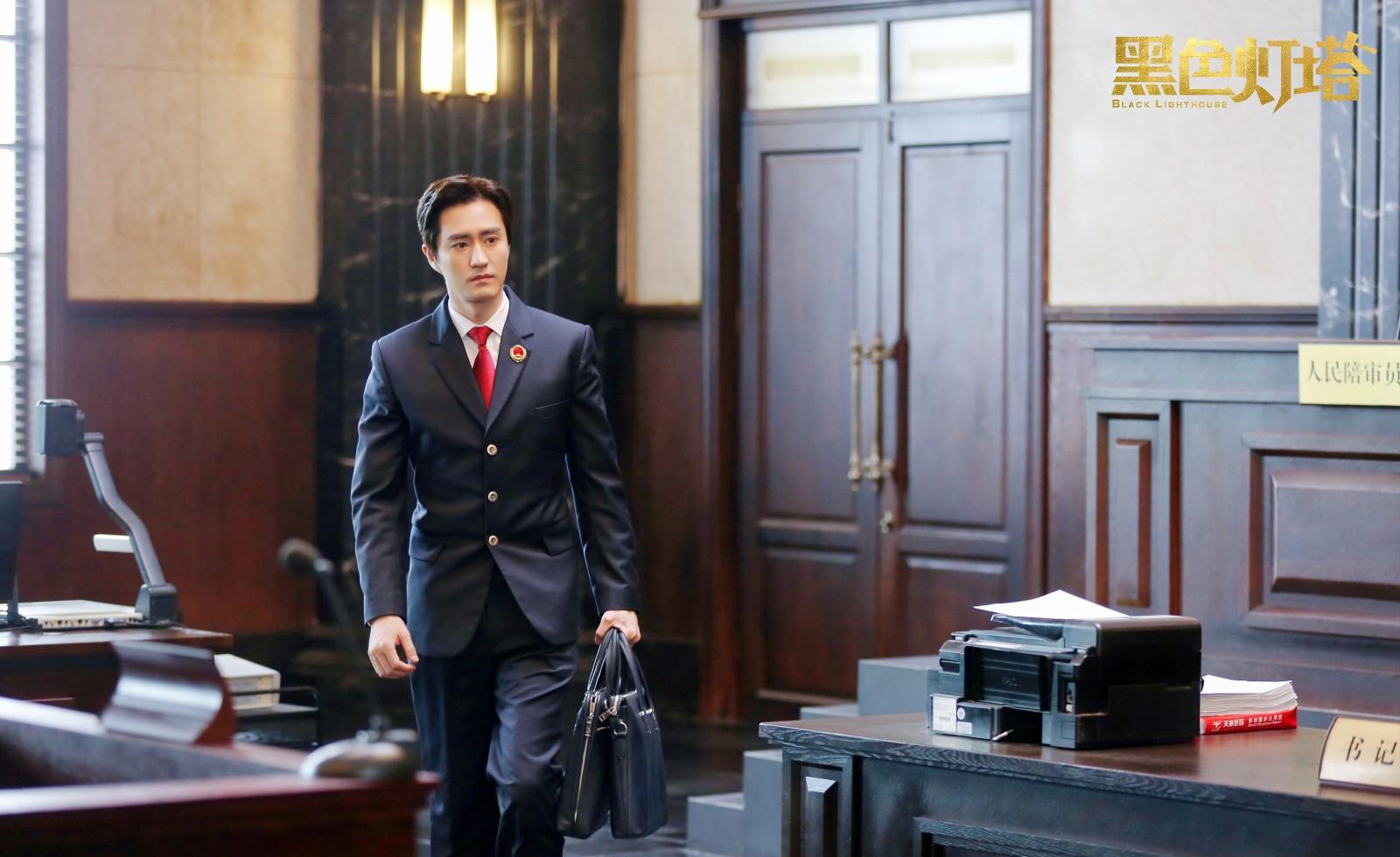 《黑色灯塔》杨玏饰演高级检察官, 刚正不阿演技很受欢迎