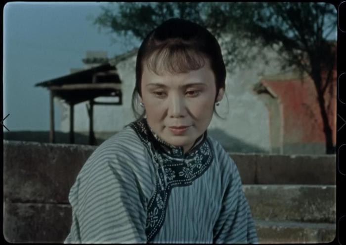 《祝福》修复后。来源:中国电影资料馆公众号。