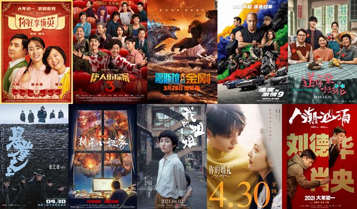 2021年度电影票房突破250亿!有你的一票吗?
